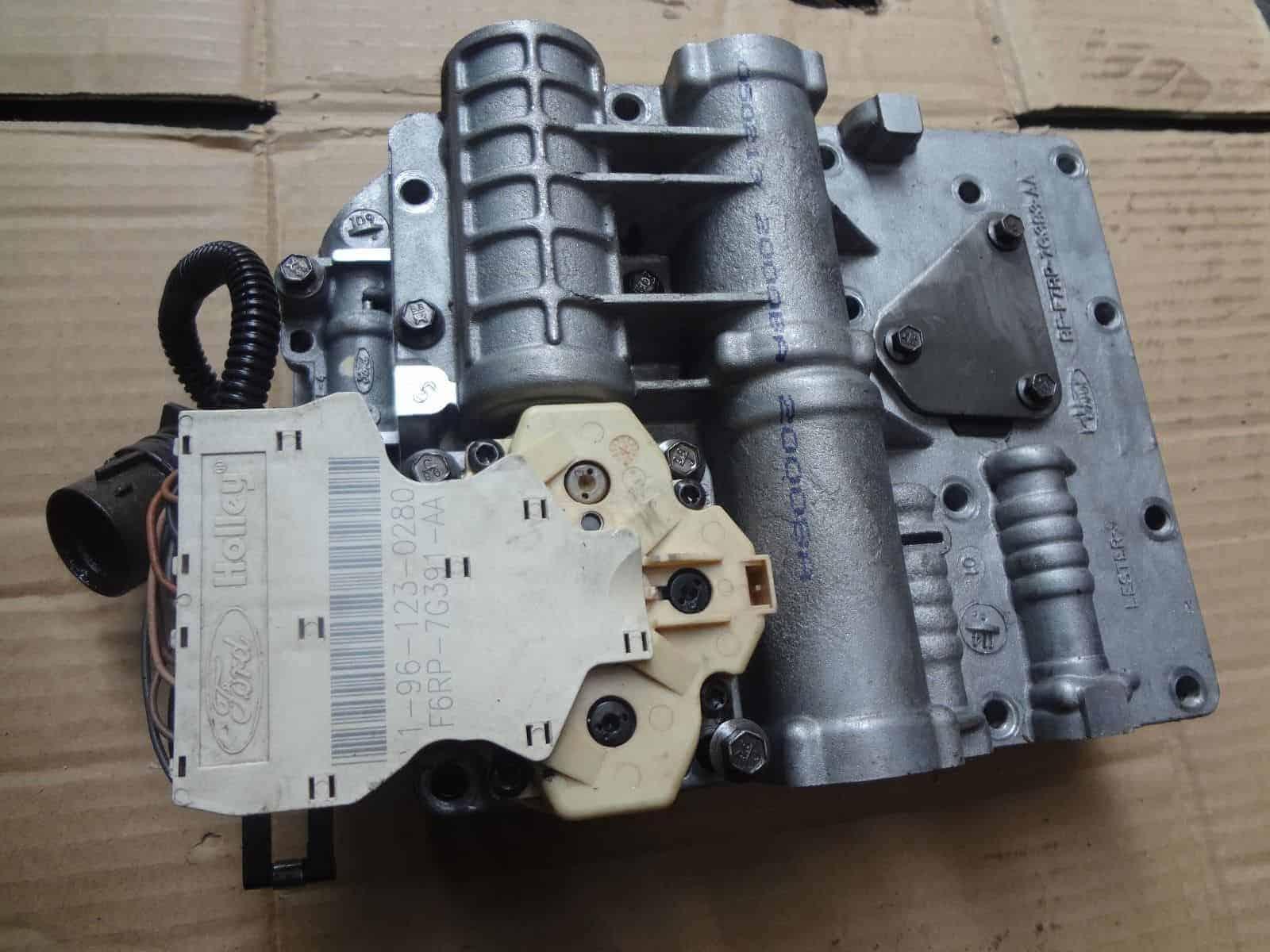 cd4e valve body with solenoid pack for ford escape probe mazda 626 mx6  mercury mariner contour cougar mystique