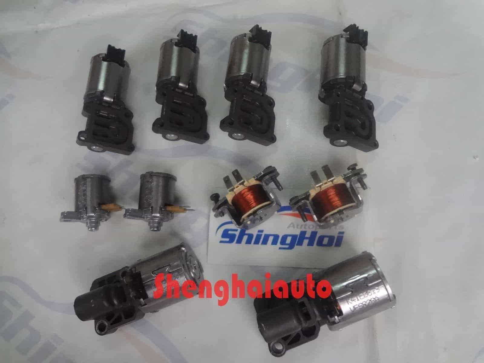 0B5 DL501 7-Speed 10PCS Transmission Solenoids Set For Audi A4 A5 A6 A7 Q5  08-11 - Sheng Hai Auto Parts Co , LTD