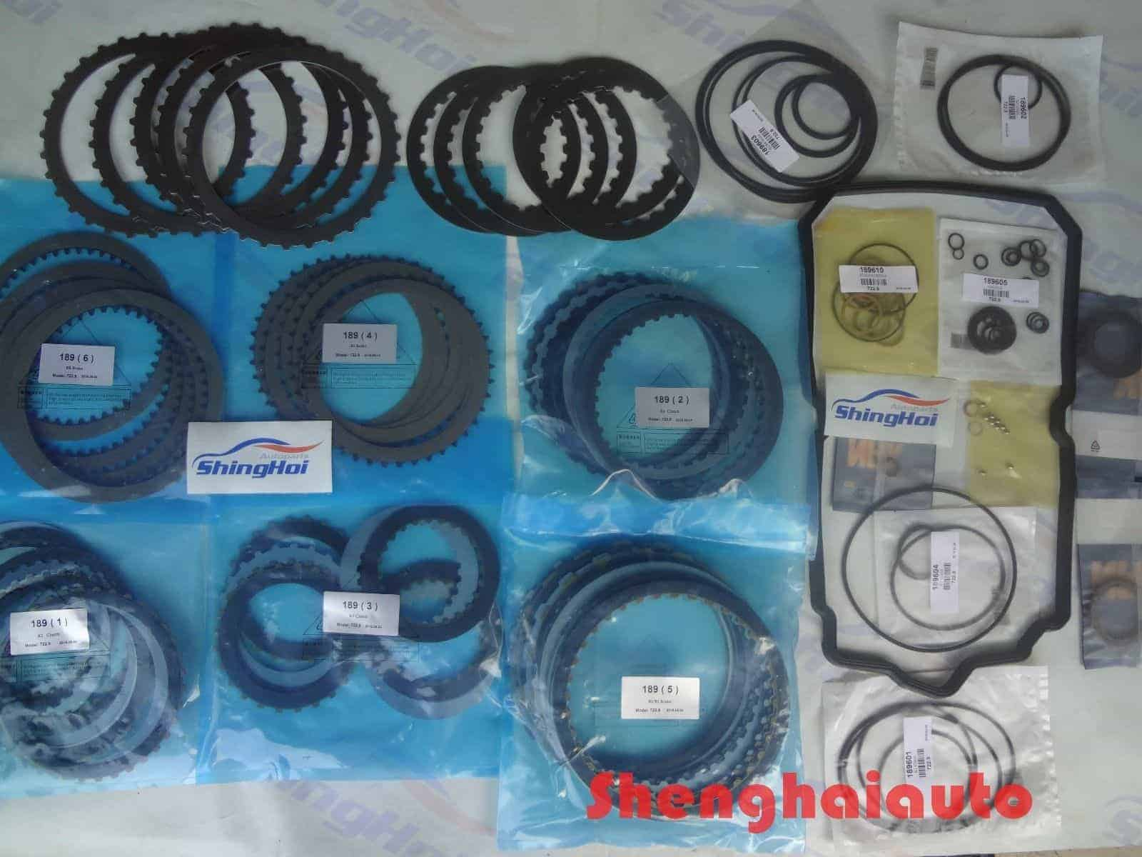 7g 722 9 automatic transmission master rebuild kit for for Mercedes benz transmission parts