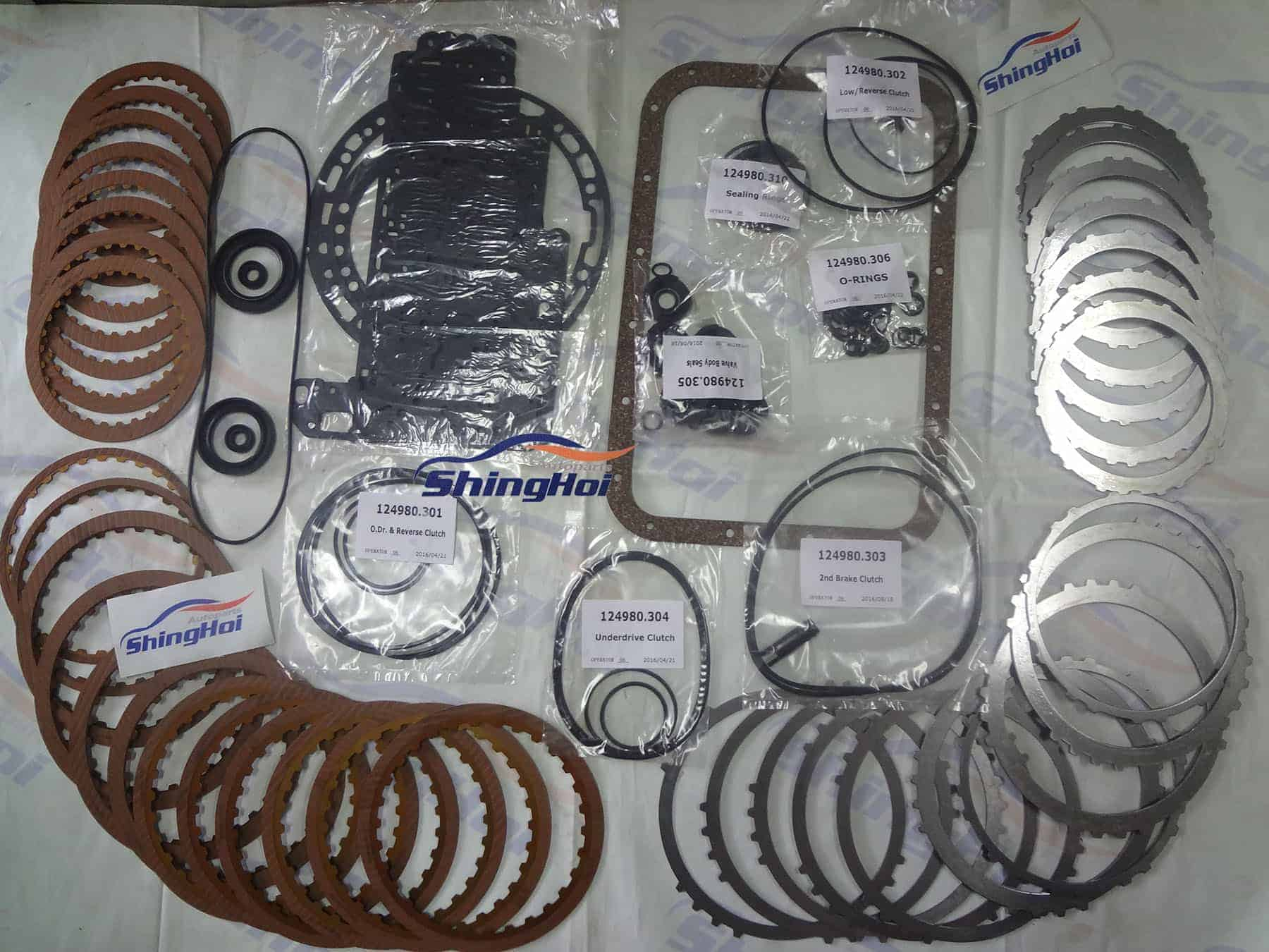 V5A51 Transmission Master Rebuild Kit for MONTERO PAJERO Sport CHALLENGER 5  Speed - Sheng Hai Auto Parts Co , LTD