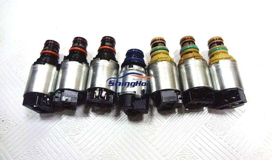 New 6T40 6T45E Solenoids For GM CRUZE EPICA LACETTI ASTRA ANTARA SAAB -  Sheng Hai Auto Parts Co , LTD
