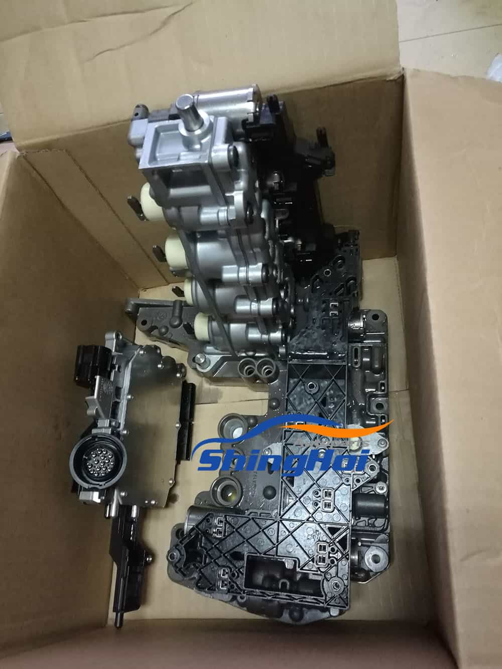 Rebuild Automatic Transmission >> DL501 0B5 DSG Valve Body With TCU and Circuit Board ...