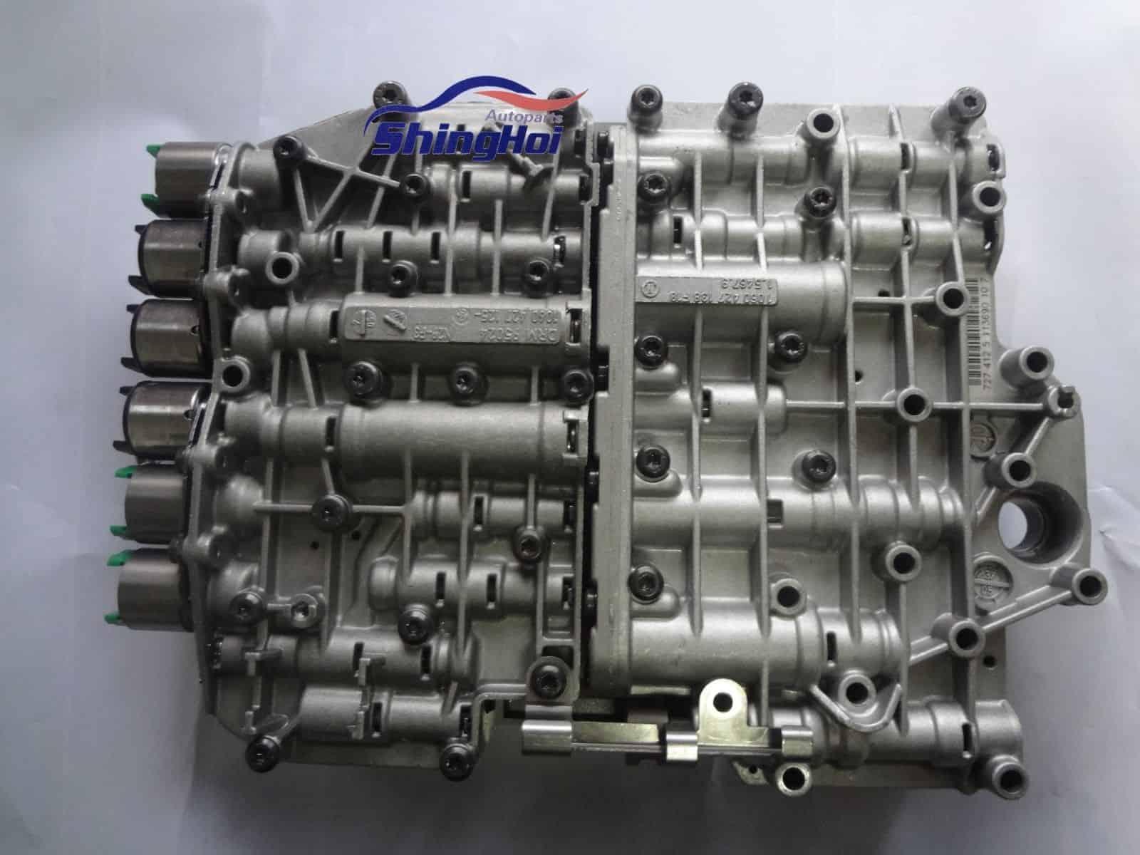 5HP19 01V Transmission Valve Body with Solenoids for AUDI PASSAT VW PHAETON
